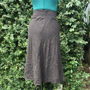 Free People Steampunk Victorian High Waisted Skirt